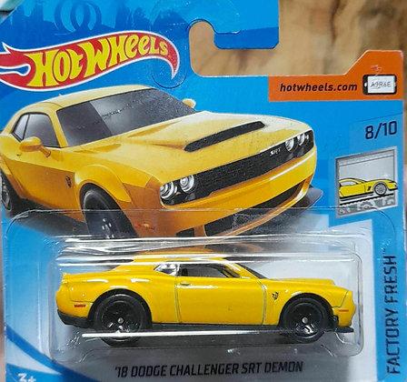 Hot Wheels Factory Fresh - '18 Dodge Challenger SRT Demon