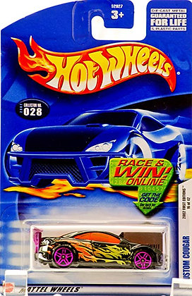 Hot Wheels First Editions - Custom Cougar