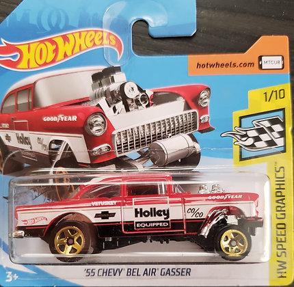 Hot Wheels Speed Graphics - '55 Chevy Bel Air Gasser