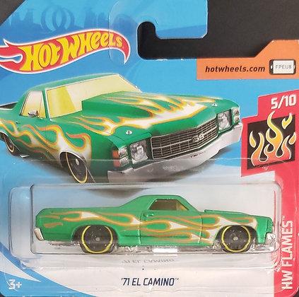 Hot Wheels Flames - '71 El Camino