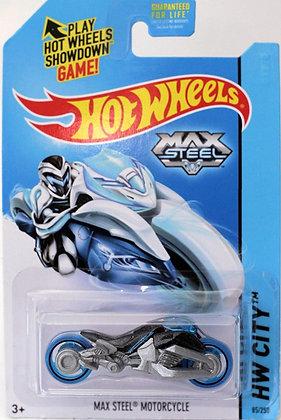 Hot Wheels City - Max Steel Motorcycle