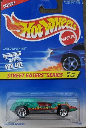 Hot Wheels Street Eaters - Speed machine