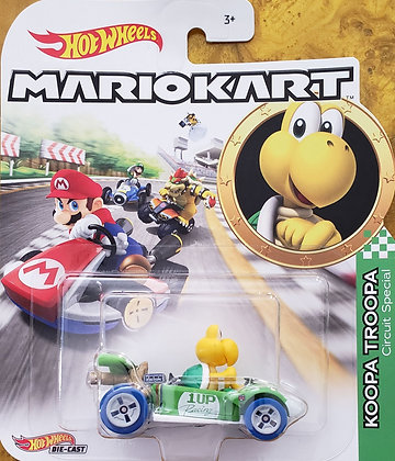 Hot Wheels Mario Kart - Koopa Troopa Circuit Special