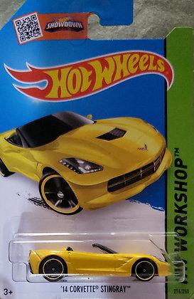 Hot Wheels Workshop - '14 Corvette Stingray