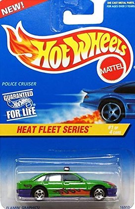 Hot Wheels Heat Fleet - Police Cruiser