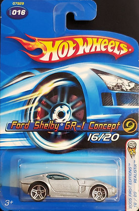 Hot Wheels Realistix First Edition - Ford Shelby GR-1 Concept