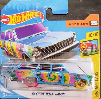 Hot Wheels Art Cars - '64 Chevy Nova Wagon