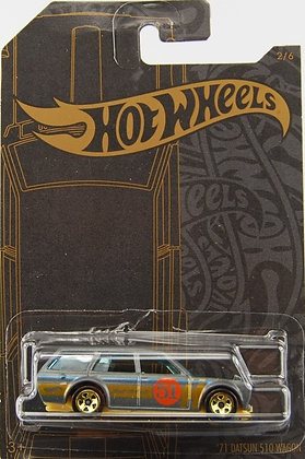 Hot Wheels Satin & Chrome - '71 Datsun 510 Wagon