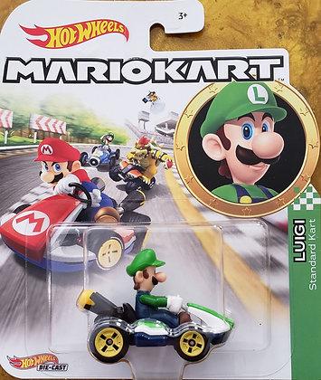 Hot Wheels Mario Kart - Luigi Standard Kart