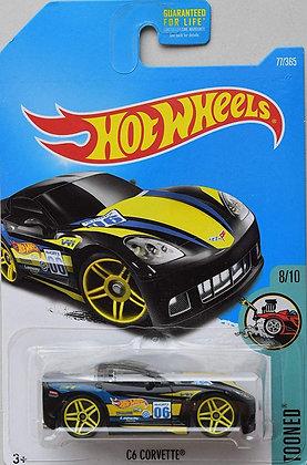 Hot Wheels Tooned - C6 Corvette