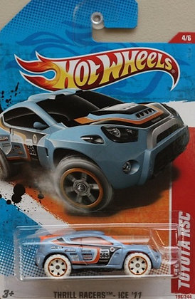 Hot Wheels Thrill Racers - Toyota RSC
