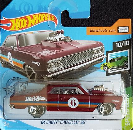 Hot Wheels Speed Blur - '64 Chevy Chevelle SS