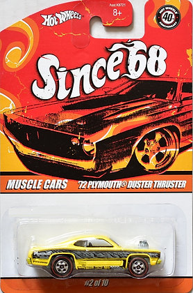 Hot Wheels Since 68 - '72 Plymouth Duster Thruster