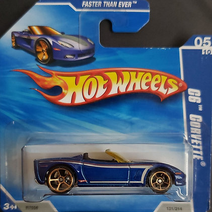 Hot Wheels Faster than Ever - C6 Corvette