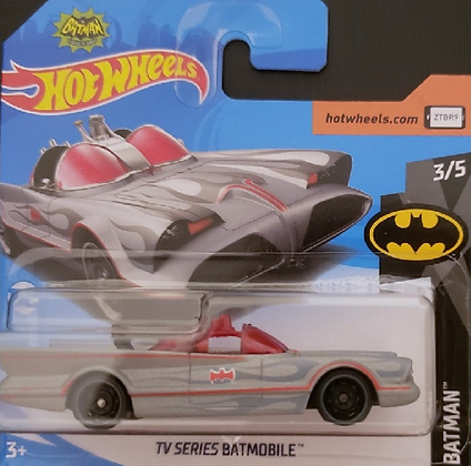 Hot Wheels Batman - TV Series Batmobile Cinza