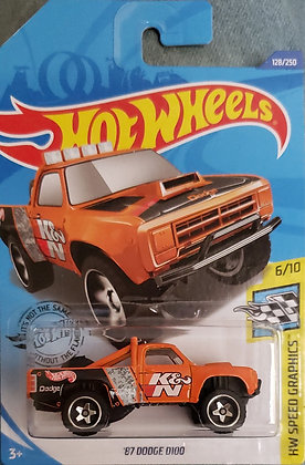 Hot Wheels Speed Graphics - '87 Dodge D100