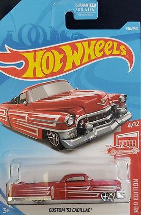 Hot Wheels Red Edition - Custom '53 Cadillac