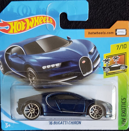 Hot Wheels Exotics - '16 Bugatti Chiron