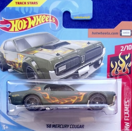 Hot Wheels Flames - '68 Mercury Cougar