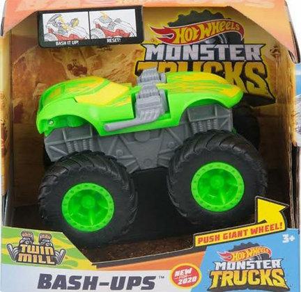 Hot Wheels Monster Trucks - Twin Mill (Bash-Ups) escala 1/43