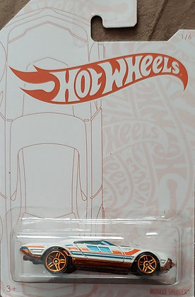 Hot Wheels Pearl & Chrome - Muscle Speeder