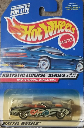 Hot Wheels Artistic License - 1970 Plymouth Barracuda