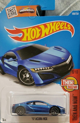 Hot Wheels Then and Now - '17 Acura NSX