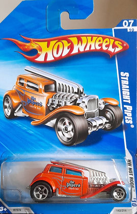 Hot Wheels Hot Rods - Straight Pipes
