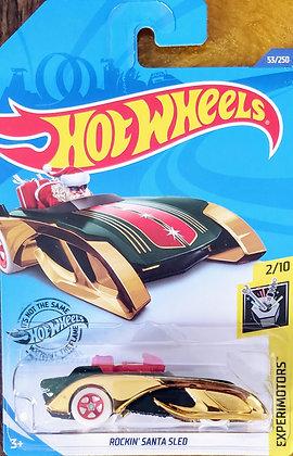 Hot Wheels Experimotors - Rockin' Santa Sled