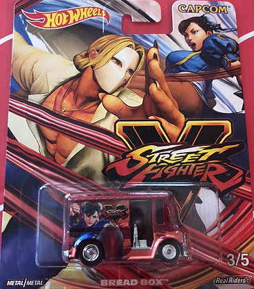 Hot Wheels Pop Culture - Street Fighter Bread Box