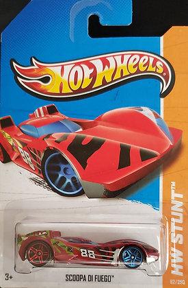 Hot Wheels Stunt - Scoopa di Fuego