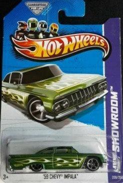 Hot Wheels Showroom - '59 Chevy Impala
