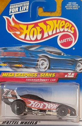Hot Wheels Mega Graphics - Firebird Funny Car