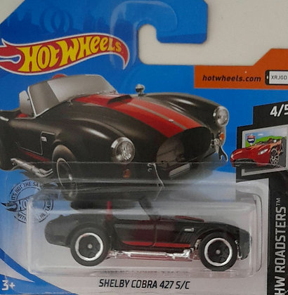 Hot Wheels Roadsters - Shelby Cobra 427 S/C