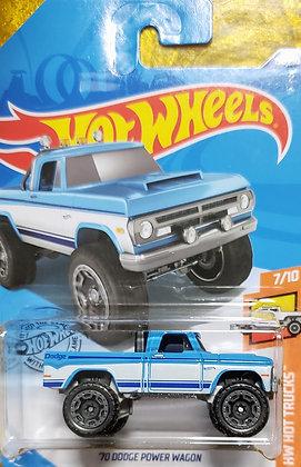 Hot Wheels Hot Trucks - '70 Dodge Power Wagon