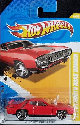 Hot Wheels Premiere - '71 Plymouth Road Runner