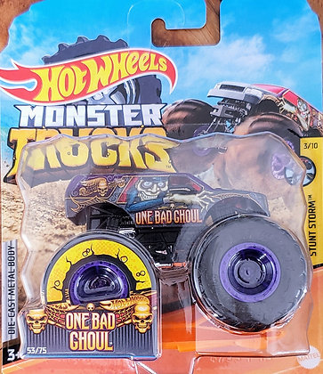 Hot Wheels Monster Trucks - Stunt Storm One Bad Ghoul