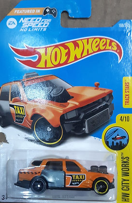 * Embalagem danificada * Hot Wheels City Works - Time Attaxi
