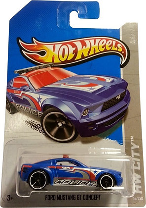 *T-Hunt* Hot Wheels City - Ford Mustang GT Concept