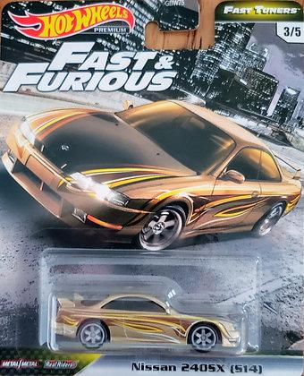 Hot Wheels Fast & Furious - Fast Tuners Nissan Silvia 240SX S14