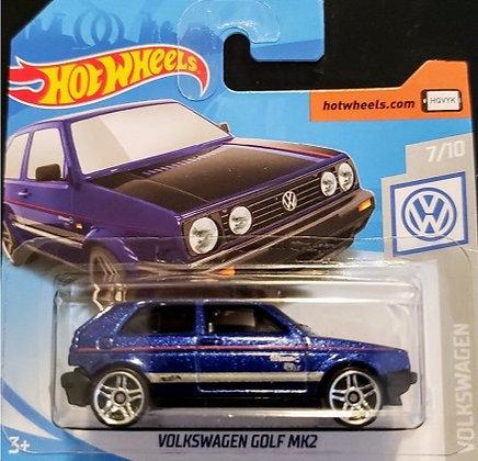 Hot Wheels Volkswagen - Volkswagen Golf MK2