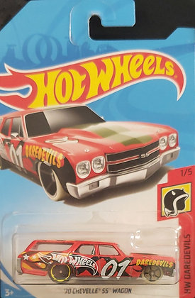 Hot Wheels Daredevils - '70 Chevelle SS Wagon