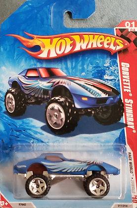 Hot Wheels Race World - Corvette Stingray