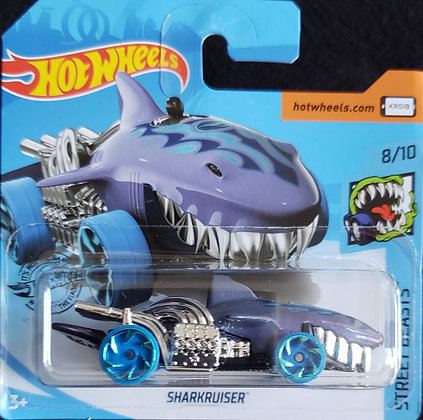 *T-Hunt* Hot Wheels Street Beasts - Sharkruiser