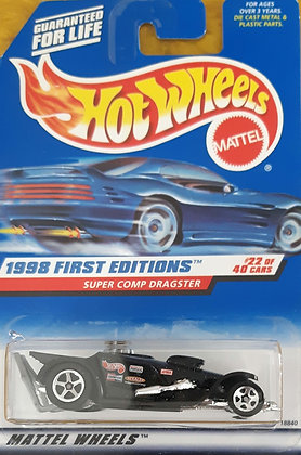 Hot Wheels First Editions - Super Comp Dragster
