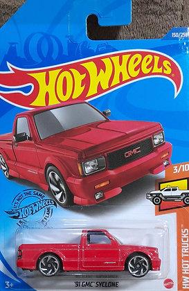 Hot Wheels Hot Trucks - '91 GMC Syclone