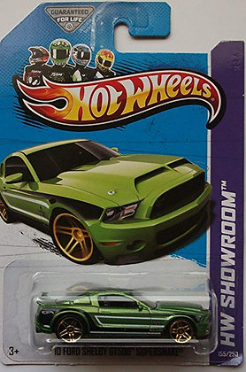 Hot Wheels Showroom - '10 Ford Shelby GT500 Supersnake