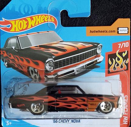 Hot Wheels Flames - '66 Chevy Nova