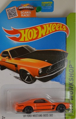 Hot Wheels Workshop - '69 Ford Mustang Boss 302