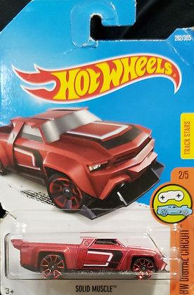 *Embalagem danificada* Hot Wheels Digital Circuit - Solid Muscle